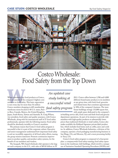 Food Safety Magazine, October/November 2012 - Page 62-63