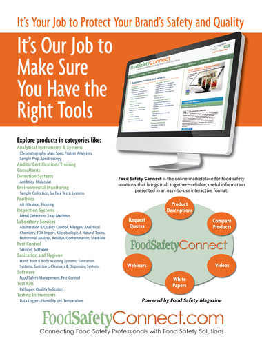 Food Safety Magazine, February/March 2012 - Page 2-3