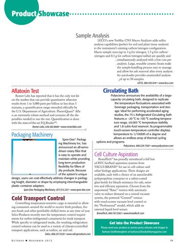 Food Safety Magazine, October/November 2012 - Page 78-79