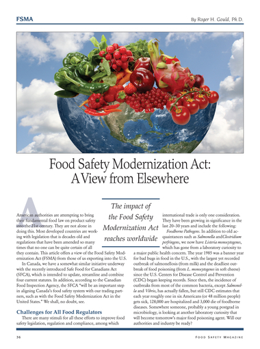Food Safety Magazine, December 2012/January 2013 - Page 36-37