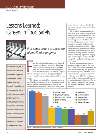 food safety magazine augustseptember 2018 page 10 11