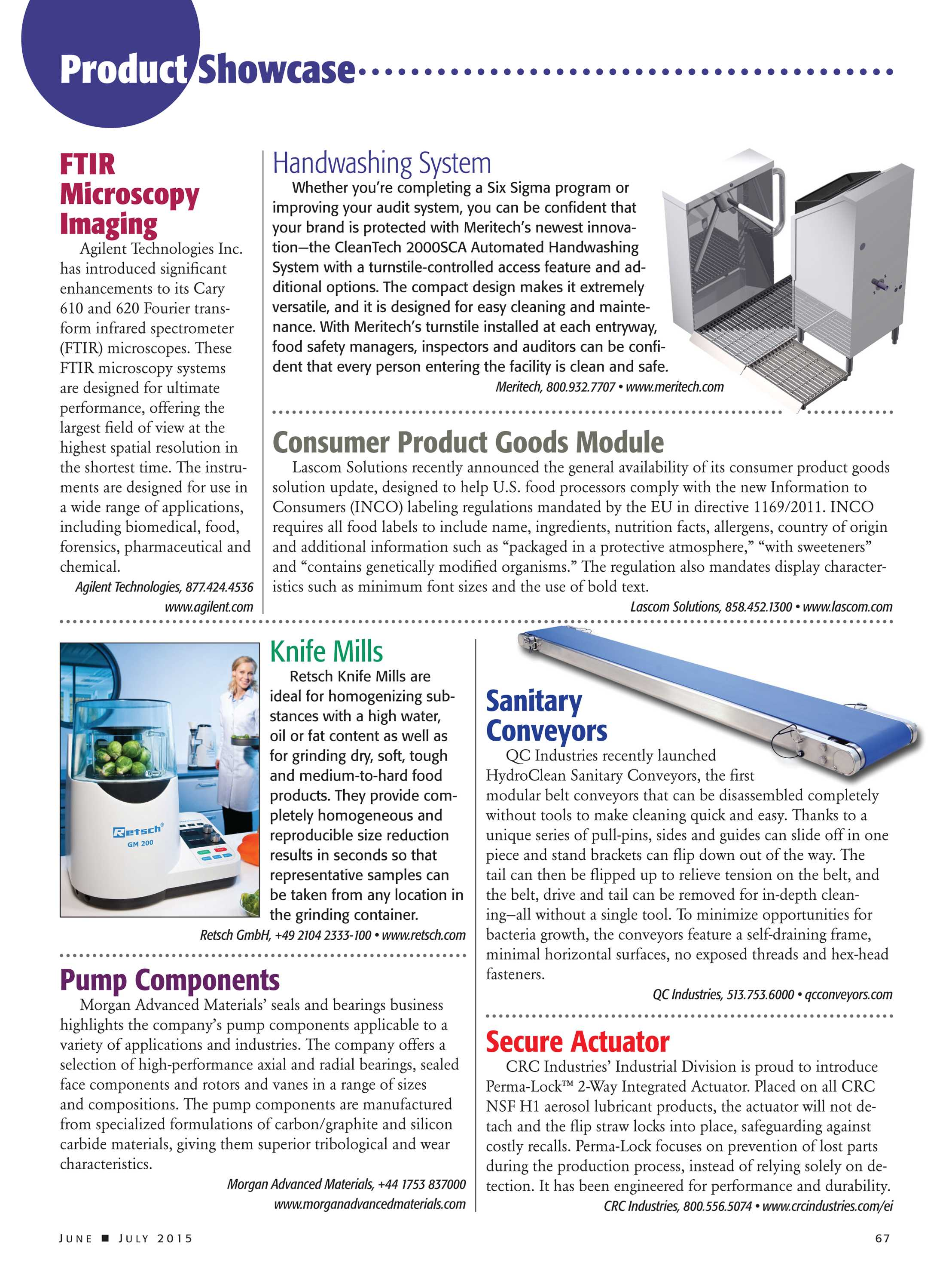 Food Safety Magazine - June/July 2015 - page 67